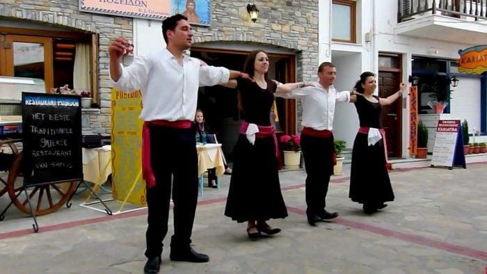 The History of 'The Zorba' Dance - Calopedos Music - Bouzouki Player